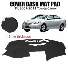 fits 2007-2011 Toyota Camry Dash Cover Mat Dashboard Pad / Charcoal Black
