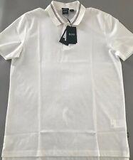 Hugo Boss White Polo Shirt Short Sleeves XL