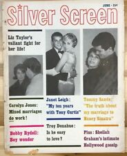 SILVER SCREEN magazine June 1961 Liz Taylor cover