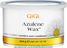16 Cans of 13oz Gigi Azulene Wax Hair Removal Soothe 0345 Waxing