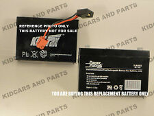 KID TRAX  6 VOLT 7.0 AMP.HR.  RECHARGEABLE *BARE* REPLACEMENT BATTERY  BRAND NEW