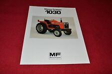 Massey Ferguson 1030 Tractor Dealer's Brochure LCOH