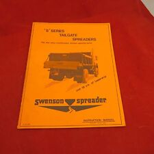 Swenson Spreader - 'S' Series Tailgate Spreaders