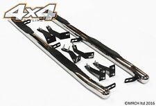 Pour kia sorento 2003 - 2009 chrome side step barres marchepieds set