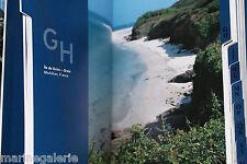 Répertoire téléphonique déco cadeau marine îles mer bleu address book Neuf
