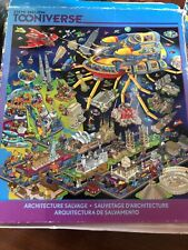 Ceaco Steve Skelton Tooniverse Architecture Salvage 550 Puzzle