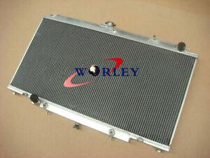 3 core aluminum radiator for Nissan PATROL Y61 GU 2.8 3.0 RD28 ZD30 CR diesel AT