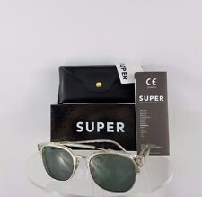 Brand New Authentic Retrosuperfuture 49er SUPER 464 2T Sunglasses Transparent
