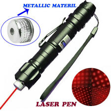500Miles Super Bright 650nm 1mW Red Laser Pointer Pen Star Pattern Visible Beam