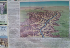 Historic Route 66 Grand Canyon 19 x 27 Laminated Wall Map (G)