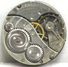 Elgin USA Rare/Collectable 7 Jewels Size 10/0's 1919 Antique Watch Movement