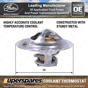 Gates Coolant Thermostat + Gaskets & Seals for Subaru Forester SG SG9 EJ25 2.5L