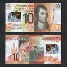 2017 SCOTLAND CLYDESDALE BANK 10 POUNDS POLYMER P-229Q* UNC> > > >ZZ REPLACEMENT