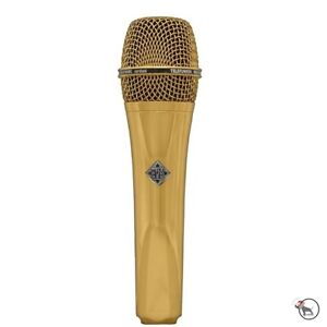 Telefunken M80 Dynamic Live Stage Vocal Performance Recording Microphone Gold