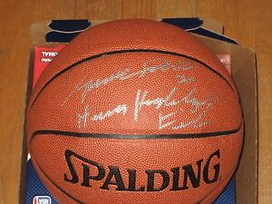 Authentic Autograph AUTO Dominique Wilkins Basketball Human Highlight Film Hawks