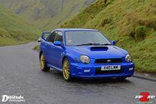 Subaru impreza STI type UK prodrive