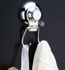 1 Pezzo Ganci a ventosa in acciaio inox gancio cucina bagno con doppio gancio IT