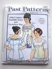 Schnittmuster Past Patterns 705 19th Stillkorsett Korsett Schwangerschaft Stays