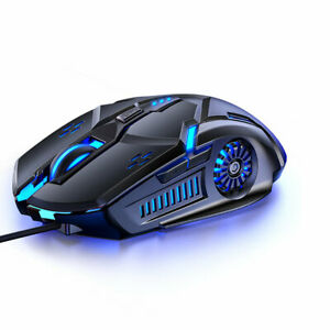 YINDIAO G5 Wired Gaming Mouse 6D 3200DPI RGB Gaming Mouse Computer Laptop Optica