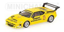 Bmw M1 Team Cassani Drm 1980 M. Winkelhock 1:43 Model MINICHAMPS