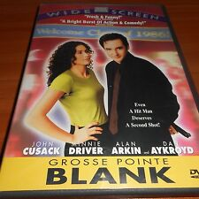 Grosse Pointe Blank (DVD, Widescreen 1998) John Cusack Used Gross Point