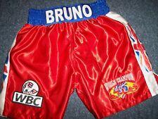 Frank Bruno official SIGNED Bruno Trunks direct from management Signed