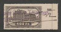 Belgium Cinderella Revenue fiscal mix collection 11-2 slightly larger stamp
