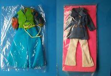 (2) Barbie Size Fashions Palooza Pants & 00004000  Car Coat & Pants Sets Moc's