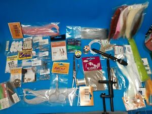 Saltwater Fly Fishing - Huge Fly Tying Equipment and Materials Lot - Quality