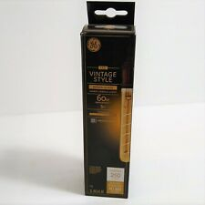 GE LED Vintage Style T9 Bulb 5w 60W Amber Glass 250 Lumens Lasts 13 years NEW
