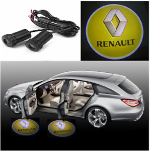 2X LED Car Door Welcome Light HD Logo Courtesy Projector Ghost Laser Renault