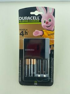 Duracell 4 hours Battery Charger with 2 AA Batteries (See Description)