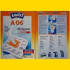 VS 63A06 mit Plastikverschluss 20 Staubsaugerbeutel für Siemens VS 63A01