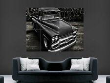 RETRO 1958 PICK UP TRUCK G.M.C ART WALL PICTURE POSTER  GIANT HUGE