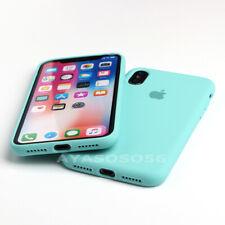 GENUINA FUNDA PARA IPHONE 6 7 8 PLUS XS MAX XR OEM ORIGINAL CARCASAS DE SILICONA