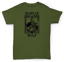 HOWLIN WOLF T SHIRT DELTA BLUES SOUL JAZZ CHESS VINYL, LIGHTIN' HOPKINS, SUN HOU