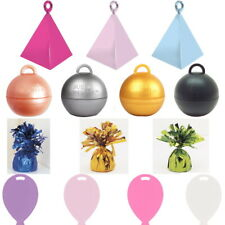 Helium Balloon Weights for Foil and Latex Balloon - 17 Colours - 1 to 100 pcs