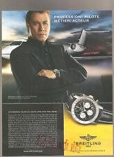 Breitling  Travolta  Publicité Année 2006 Advertising  AD Paper Papier