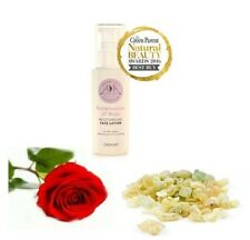 Natural Frankincense & Rose Moisturising Face Lotion 100ml - toning and firming