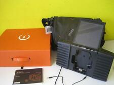 ETON SOULRA SOLAR POWERED SOUND SYSTEM FOR IPOD & IPHONE NSP400B MINT BOX CASE