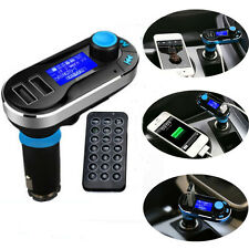 Wireless Hands-free FM Transmitter MP3 Player SD LCD Car Kit Charger for iPhone