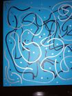 Positive Message Abstract Metallic & Marker Painting 8.5X11 in. By C.LynnsArt