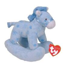 Ty Beanie Babies 34517 Pluffies Baby Safe Pretty Pony Blue