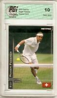 Roger Federer 2003 NetPro #11 True Tennis Rookie Card