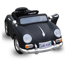 RETRO VINTAGE Kinderfahrzeug  Kinder Elektroauto mit Fernsteuerung lackiert NEU