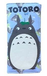 Ghibli Totoro Long Wallet Coins Purse Card Holder Folding Bags Anime Notecase