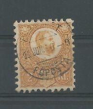 UNGARN 1871 König Franz Josef gestempelt