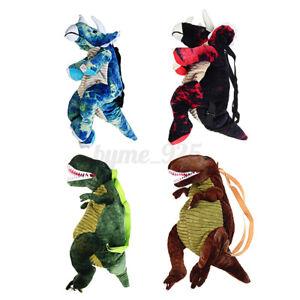 4 Colors School Backpack 3D Dinosaur Bag  Kids Boys Girls Fashion Cute Cart