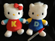 SANRIO HELLO KITTY & DANIEL 8 1/2 INCH PLUSH SET from Japan~ship free