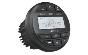 Hertz HMR10D Marine Radio rund DAB+ USB Bluetooth Boot Feuchtraum Sauna Bad